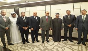 وزير النقل ورئيس هيئة قناة السويس يجتمعان مع رئيس مجموعة موانئ دبي العالمية