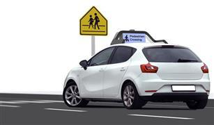 السيارات ذاتية القيادة تتحدث مع المارة قريبا  صور