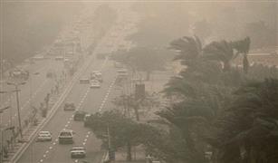 إغلاق ٨ طرق  لعدم وضوح الرؤية بسبب العواصف الترابية