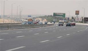 تحويلات مرورية  بتقاطع الدائرى  مع السويس الصحراوى  لمدة يومين لإجراء إصلاحات.