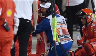 ميكانيكي فيراري يخضع لجراحة ناجحة في البحرين بعد إصابته على يد رايكونن