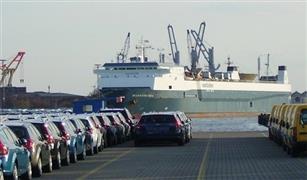 وصول ٣٠٠ سيارة جديدة ماركات مختلفة من ايطاليا  ودخول وخروج ١٠ آلاف شاحنة  من وإلى ميناء الإسكندرية