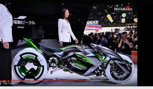 """""""كاواساكي جيه"""" دراجة القرن الـ19 التي تحمل تكنولوجيا المستقبل"""