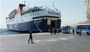 وصول 2790 راكب من العمالة المصرية لمينائى سفاجا و الغردقة لقضاء اجازة الاعياد