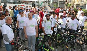 """محافظة القاهرة تشجع على ركوب الدرجات بـ""""سكتك خضراء"""""""