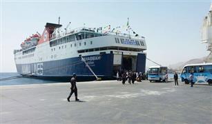 وصول و سفر 3322 راكب بموانى البحر الأحمر