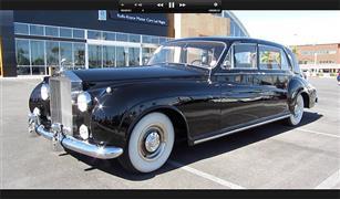 """""""رولز رويس 1960""""..  سيارة أمير تايلندي للبيع في مزاد"""