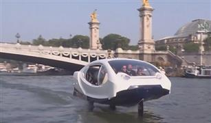 شاهد بالفيديو.. التاكسي المائي في باريس