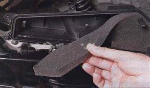 طريقة  تنظيف فلتر هواء  الدراجة النارية