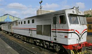 """السكك الحديدية تنفي نشوب حريق في جرار قطار """"المنصورة- القاهرة"""""""