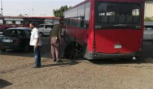 كثافات مرورية بالحلمية ومحور جوزيف تيتو بسبب أعطال أتوبيسات النقل العام