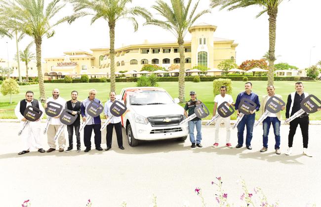 10 سيارات  شيفرولية دبابة  هدية من أكسون موبيل - الأهرام اوتو