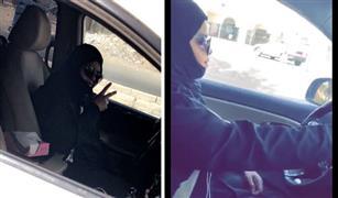 بالفيديو اول فتاة  (كابتن) سعودية تقود سيارة (أوبر) في جدة