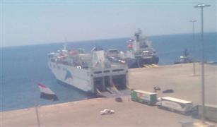 وصول وسفر 3442 راكب بموانئ البحر الأحمر وتداول 300 شاحنة