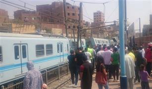 توقف الحركة بمحطة مترو المرج بسبب عطل فى أحد القطارات
