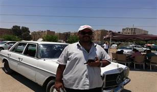 مرسيدس 76 .. اشتراها جده بـ5 آلاف جنيه.. وهذا ما يطلبه لبيعها في سوق مدينة نصر| فيديو