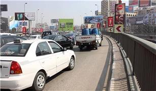 اعطال سيارات على كوبرى أكتوبر والعروبة تعرف على الأسباب.