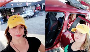 بالفيديو.. الإعلامية زينة عبد القادر تكشف أسرار الغسيل الكيميائي للسيارات من داخل أحد المراكز المتخصصة