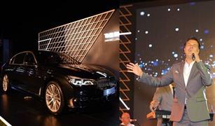 في حفل أحياه راغب علامة.. BMW تعلن بدء تجميع الفئة السابعة في مصر|صور