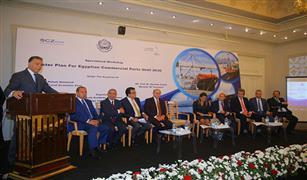 الفريق مميش و4 وزراء يجتمعون للإعلان عن بدء دراسة المخطط الشامل للموانيء البحرية المصرية