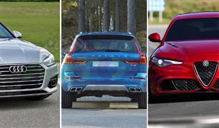 سيارات تتراوح أسعارها ما بين المليون والمليون و200 الف جنيه