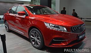 سيارة جديدة من جيلي الصينة في الأسواق قريبا