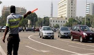 أعطال سيارات خفيفة غير مؤثرة على حركة المرور بالقاهرة اليوم