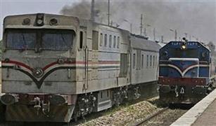 السكة الحديد حركة القطارات منتظمة على خطوط الوجه القبلى ولا صحه لتعطل قطار ٩٨١ بسوهاج.
