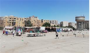 شاهد بالفيديو ما جرى بسوق سيارات مدينة نصر في أول جمعة بعد إجازة العيد
