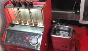 """سوري يجلب طريقة تنظيف رشاشات البنزين بتقنية """"ألترا سونك"""" إلى مصر  فيديو وصور"""