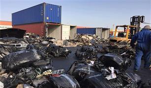 بورسعيد تفرج عن قطع غيار سيارات بقيمة 151مليون جنيه