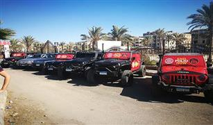 جروب جيبو يشارك في فاعلية روتاري بورسعيد بسيارة دودج رام معدلة بإمكانيات جبارة| فيديو