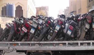 7 آلاف مخالفة في يوم واحد.. وحجز 20 دراجة نارية