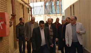 أول ماكينة في مصر لفحص عيوب قضبان القطارات