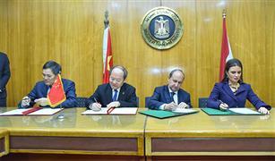 مصر والصين توقعان اتفاقات لتصنيع السيارات