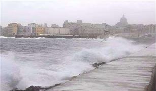 غلق بوغاز مينائي الاسكندريه والدخيلة نظرا لسوء الأحوال الجومائية