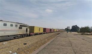 """""""السكك الحديدية"""": حركة القطارات لم تتأثر بسبب حادث """" قطار بضائع الواحات"""""""