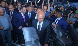 وزير النقل يشهد تشغيل محطة هليوبوليس من الخط الثالث لمترو أنفاق