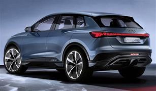 أوديE-Tron Q4 سيارة الدفع الرباعي الكهربائية المستقبلية 2020