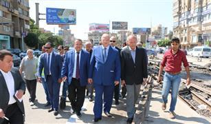 محافظ القاهرة يأمر بسرعة إزالة مخلفات شريط الترام من شارع الحجاز بمصر الجديدة