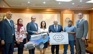 المصرف المتحد يمول صاحب اول ورشة لصناعة السيارة الكهربائية المصرية