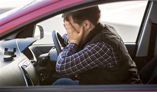 مشاجرة زوجية  في السيارة تنتهي بميتة مروعة