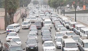 تصادمان للسيارات بمحور المشير والإسكندرية الصحراوى