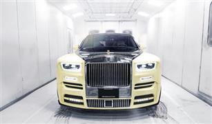 """مصنوعة من الذهب والألماس.. """"رولز رويس"""" تصنع سيارة فارهة لمغني راب شهير"""