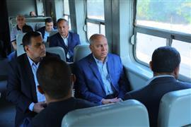 وزير النقل: تأهيل العنصر البشرى اساسى فى تطوير السكة الحديد