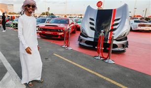 مهرجان الخليج للسيارات في دبي يعرض أكثر من 1000 سيارة نادرة