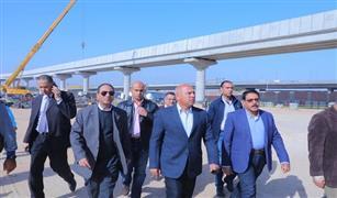 وزير النقل يستعرض معدلات تنفيذ مشروع القطار المكهرب