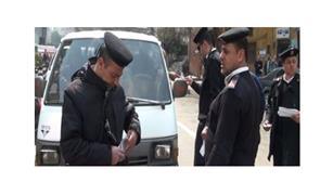 مدير مرور القاهرة يتفقد الخدمات المرورية أمام المدارس والجامعات