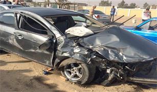 النشرة المرورية: حادثا تصادم على كوبرى أكتوبر والجيش .
