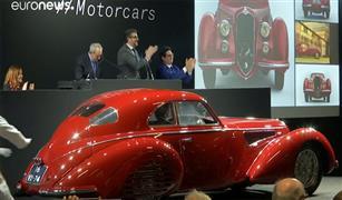 بالفيديو.. بيع سيارة ألفا روميو  بـ 19 مليون دولار في باريس